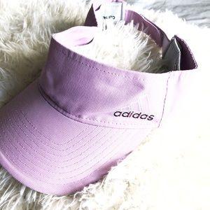 Adidas violet visor!